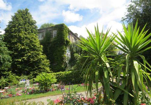 Quesnel-Morinière mansion-museum and Jardin des Plantes de Coutances