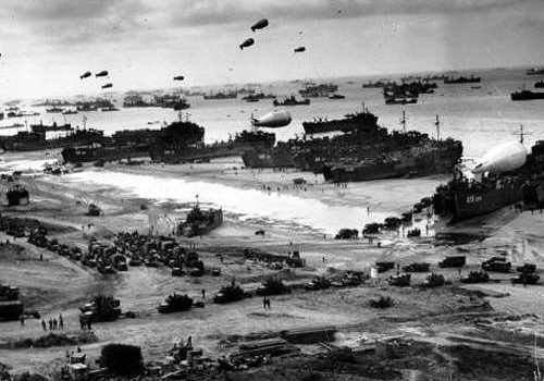 Allied invasion on D-Day