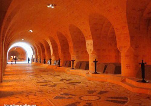 Douaumont Ossuary - Cloitre