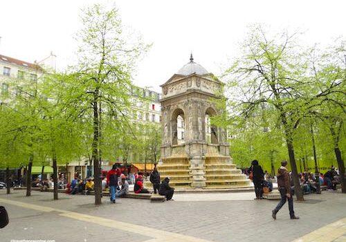 Fontaine des Innocents in Paris