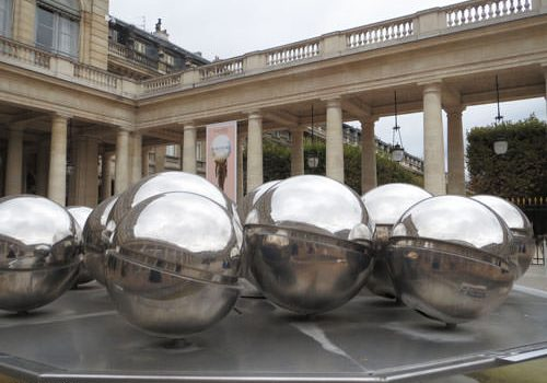 Fontaines de Pol Bury in the Palais-Royal