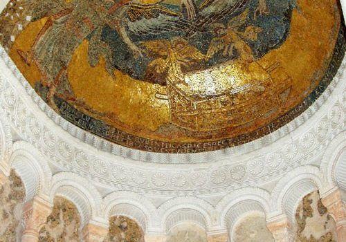 Germigny des Pres Church - Mosaic in cupola
