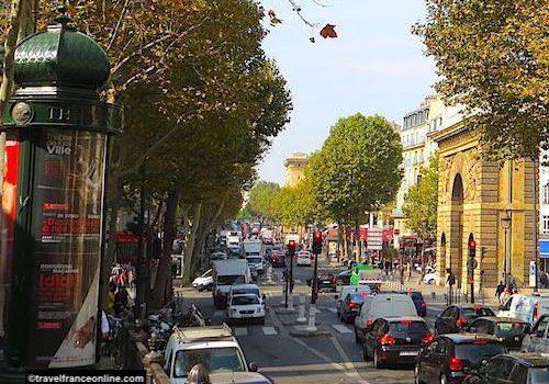 Grands Boulevards in Paris