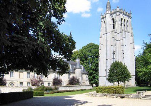 Abbaye du Bec-Hellouin - Tour Saint-Nicolas