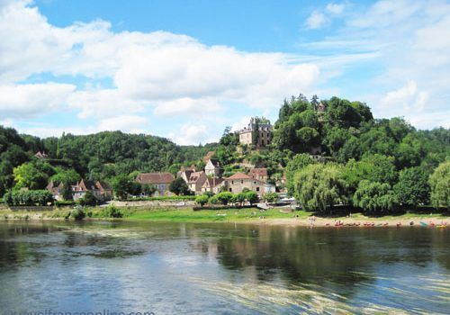 Limeuil seen from the bridges