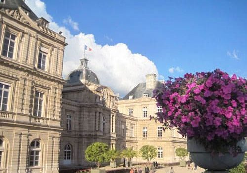 Luxembourg Palace - Facade overlooking the gardens