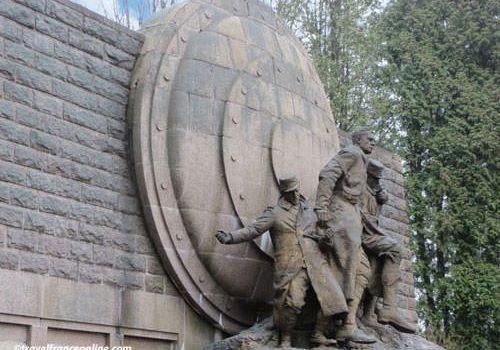 Maginot Monument in Fleury-devant-Douaumont