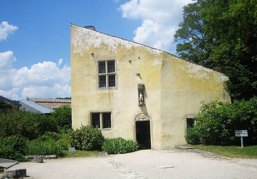 Joan of Arc's birthplace in Domremy-la-Pucelle