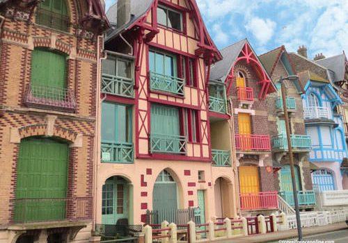 Belle-Epoque architecture in Mers-les-Bains