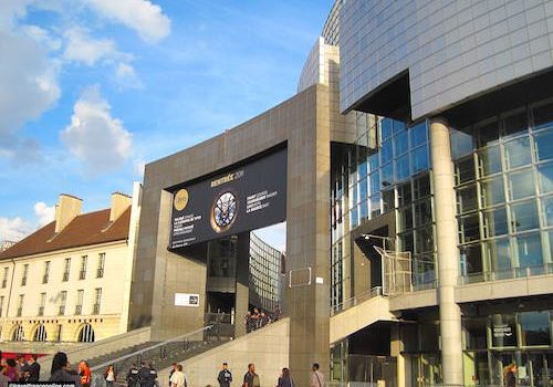 Opera Bastille entrance