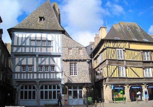 Place des Merciers in Dinan