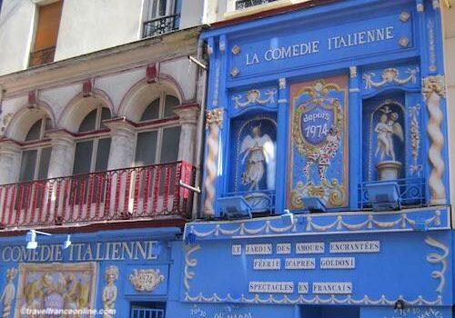 Rue de la Gaite in Montparnasse