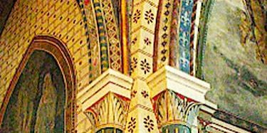 Saint-Cernin du Causse church - Henri Petit's frescoes