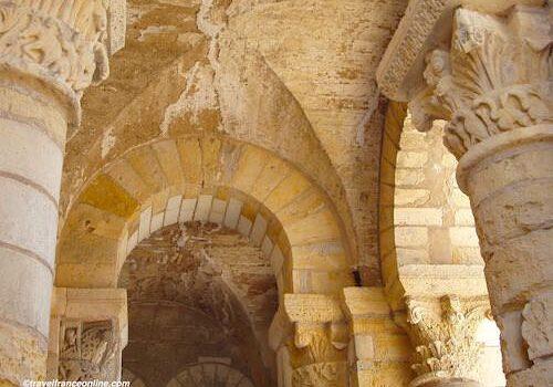 St Benoit sur Loire Romanesque porch