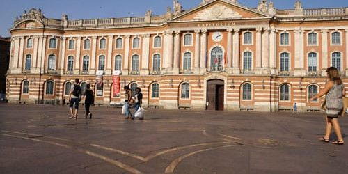 Capitole of Toulouse the Pink City