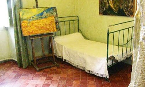 Van Gogh's room in Saint-Paul de Mausole Asylum