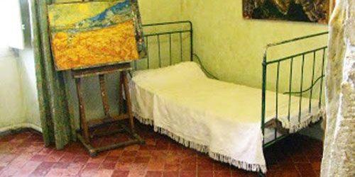 Van Gogh's room in Saint-Paul de Mausole Asylum