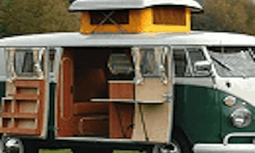 Campervan hire in France
